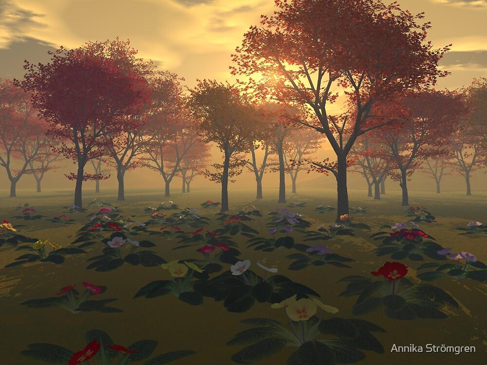 Sunset by Annika Strömgren