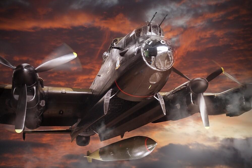Lancaster Bomber by Matt West