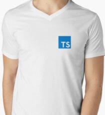 Typescript Men's V-Neck T-Shirt