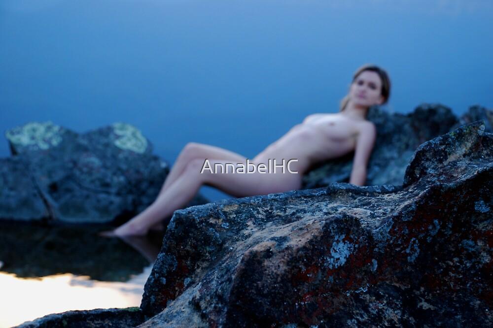 Reclining nude by AnnabelHC