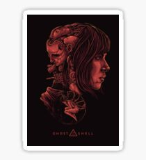 Ghost in the Shell Poster Sticker