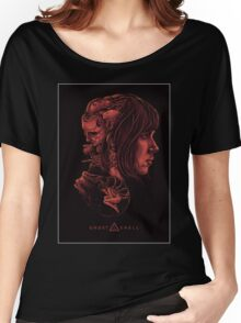 Ghost in the Shell Poster Women's Relaxed Fit T-Shirt