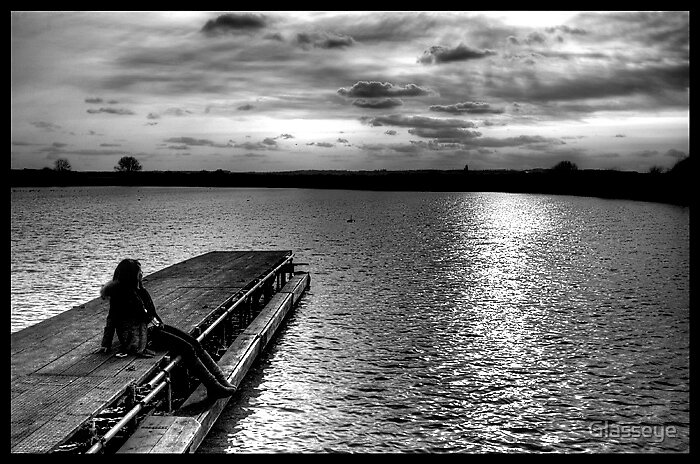 Sitting on the Dock of the Bay by Glasseye
