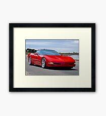 2002 Corvette C5 Roadster Framed Print