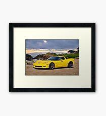 2008 Corvette Z06 Coupe Framed Print