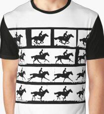 Horse in Motion, Eadweard Muybridge, ca. 1886 Graphic T-Shirt