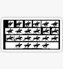 Horse in Motion, Eadweard Muybridge, ca. 1886 Sticker