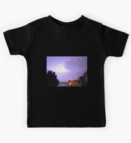 Purple Storm & Lightning Kids Clothes
