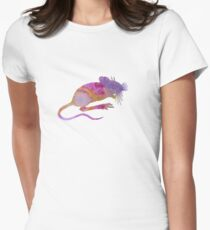 Mouse Womens Fitted T-Shirt