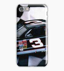 Tribute to my favorite driver..R. I. P. Dale...#3 forever iPhone Case/Skin