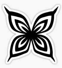 Suzumebachi butterfly Sticker