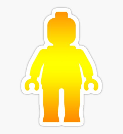 Minifig [Large Golden], Customize My Minifig Sticker