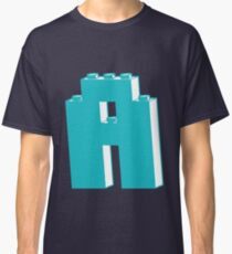THE LETTER A, Customize My Minifig Classic T-Shirt