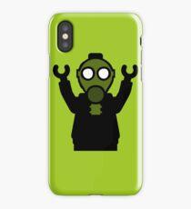 Apocalyse Minifigure wearing Gasmask iPhone Case/Skin