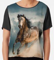 Galoppierendes Pferd Chiffontop