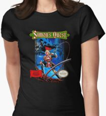 Castlevania - Simon's Quest Womens Fitted T-Shirt