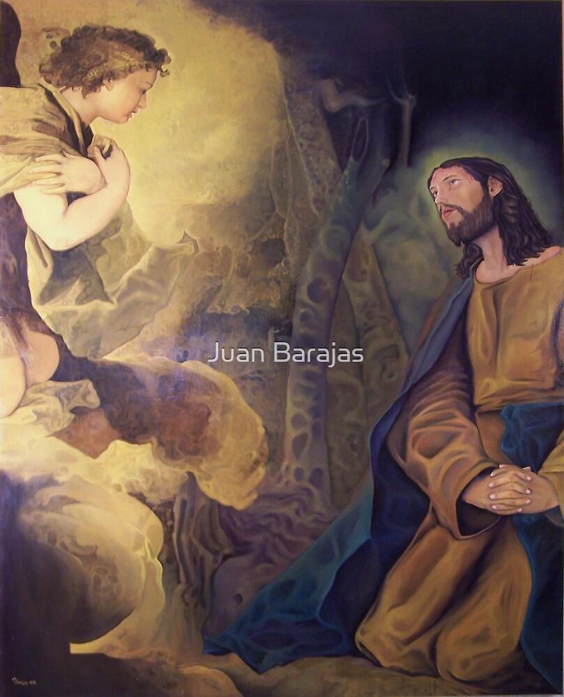 Oracion en el huerto by Juan Barajas