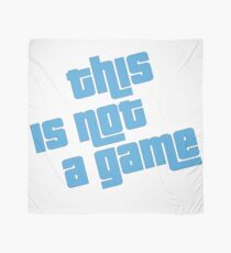 This is not a game Scarf
