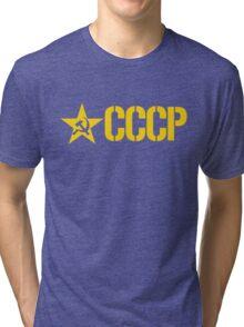 CCCP STENCIL Tri-blend T-Shirt