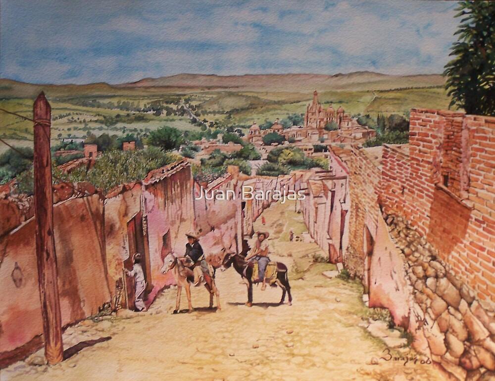 San Miguel de Allende by Juan Barajas