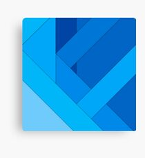 Modern material design background Canvas Print