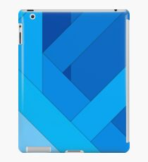 Modern material design background iPad Case/Skin