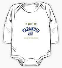 Paranoid Android - Radiohead - Blue version One Piece - Long Sleeve