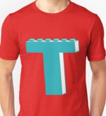 THE LETTER T, Customize My Minifig T-Shirt