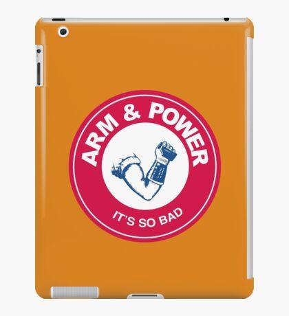 ARM & POWER iPad Case/Skin
