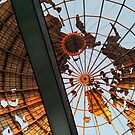 Abstracted Queens World's Fair Unisphere  by Andy Sherman