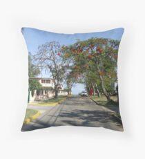typical cuba street Throw Pillow