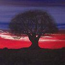 Crimson Dusk by NatMason
