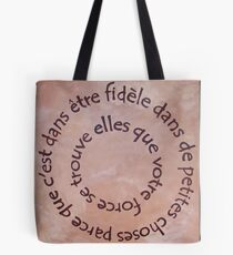 In The Words Of.... Tote Bag