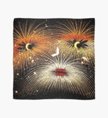 Facetious Fireworks Gold Scarf