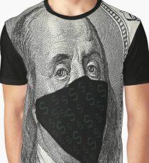 Benjamin Franklin Bandit Graphic T-Shirt