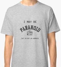 Paranoid Android - Radiohead - Black version Classic T-Shirt