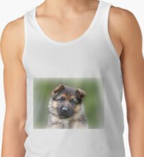 Puppy Portrait Tank Top