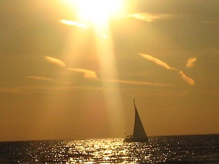 the sailboat by JlAndrews