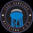 Lake Kampeska Watertown U.S.A. Round by Josh Burt