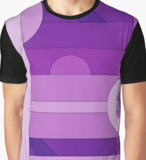 Purple modern material design vector background Graphic T-Shirt
