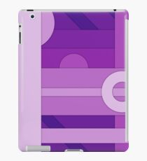 Purple modern material design vector background iPad Case/Skin