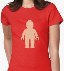 Minifig [Flesh Pink], Customize My Minifig Women's Fitted T-Shirt