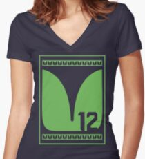 12 Feathers Women's Fitted V-Neck T-Shirt