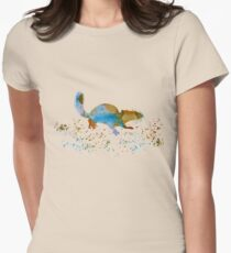 Chipmunk Womens Fitted T-Shirt