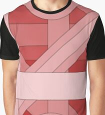Red modern material design background Graphic T-Shirt