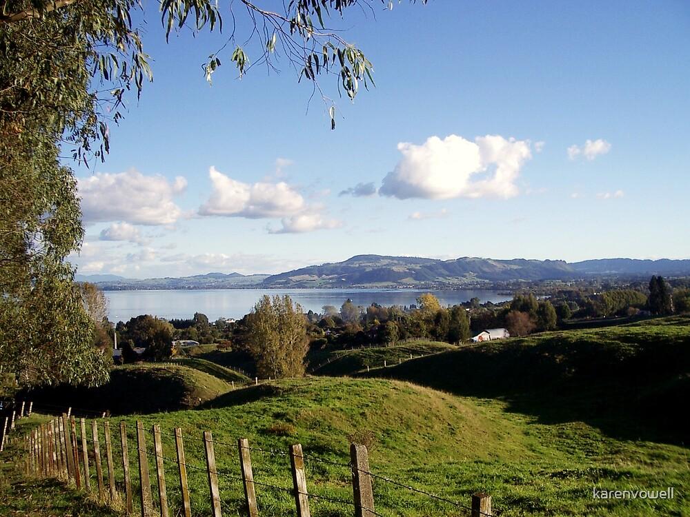 Lake Rotorua by karenvowell