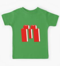 THE LETTER M, Customize My Minifig Kids Clothes