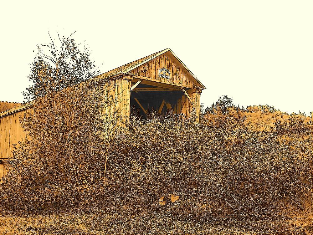 Covered Bridge 1 by Gene Cyr