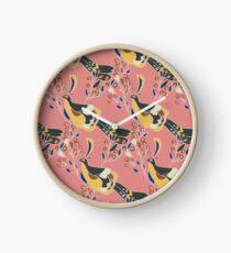 Peahen Clock