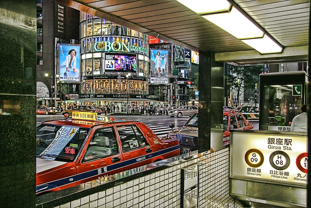 Tokyo - Ginza by sparrowhawk